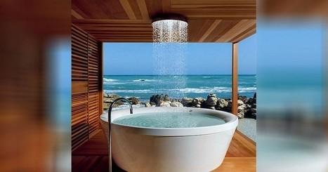 Voici le top 15 des plus belles douches au monde | Baignoire.Pro | Scoop.it