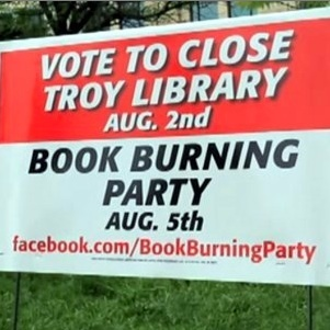 BURN. THE LIBRARIES. DOWN! Kidz can learned stuff on there oan. | Advocating for School Libraries | Scoop.it