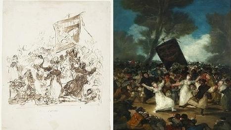 Goya edulcoró «El entierro de la sardina» | Centro de Estudios Artísticos Elba | Scoop.it