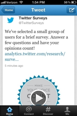 Twitter Offers Advertisers Survey To Measure Brand Impact - Forbes   Social Media Profiles   Scoop.it