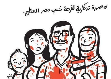 Malos tiempos para las viñetas en Egipto | Learn a Language to use it, use it to learn it ! | Scoop.it