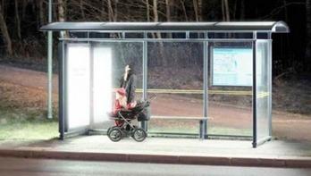 Fototerapia con energía solar en la parada del autobús - Energías Renovables | quimica | Scoop.it