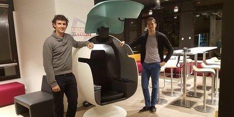 E-Bulle, un fauteuil connecté métamorphose l'open space | Nouveaux lieux, nouveaux apprentissages | Scoop.it