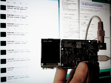 Encrypting messages with Cuckoo and Arduino Yún   Raspberry Pi   Scoop.it