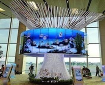 Digital Tree Sculpture Lets Loved Ones Post Pictures To Airport Travelers - PSFK | ❤ Social Media Art ❤ | Scoop.it