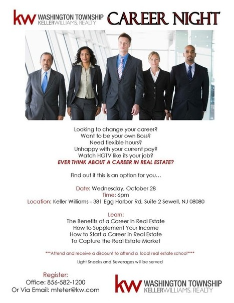 KW Career Night! Get a discount to attend real estate school.... | SmartChoiceRealEstate | Scoop.it