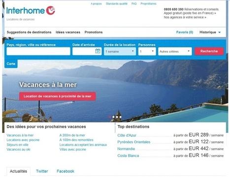 Interhome : le site web fait peau neuve - TourMag | location-vacances | Scoop.it