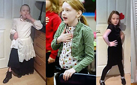8-Year-Old Girl Dresses as Different Historical Figure Every Day | contracted | Scoop.it