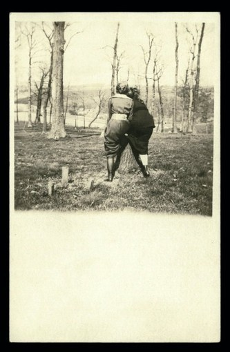 Antique Real Photo Postcard Featuring Female Backsides | Inherited Values | Antiques & Vintage Collectibles | Scoop.it