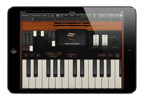 GarageBand iOS App Update Adds Audiobus Enables Play And Record From ... - Geeky gadgets | Edtech PK-12 | Scoop.it