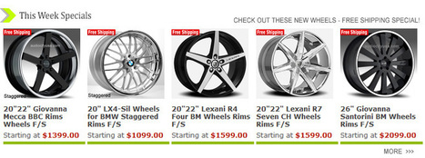 Giovanna Wheels & Rims, Rim / Wheel Financing by Audio City USA | Rota Wheels | Scoop.it