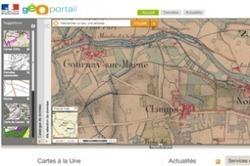 Geoportail complète ses cartes anciennes | Chroniques d'antan et d'ailleurs | Scoop.it