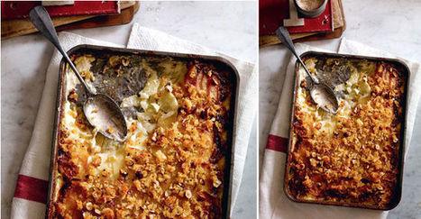 Gratin de pommes de terre, endives et munster | The Voice of Cheese | Scoop.it