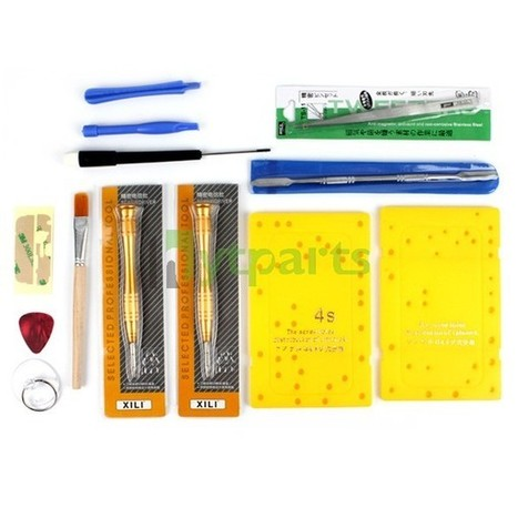 DIY 13Pcs Repair Tool Kit Set for iPhone 4S 4 | How to save more money and time | Scoop.it