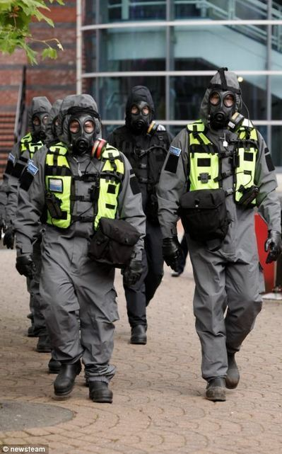 Don't be alarmed, it's only a drill! Police, Army and firefighters take part in full-scale MOCK-UP of Al-Qaeda chemical attack on city | transhumanity | Scoop.it
