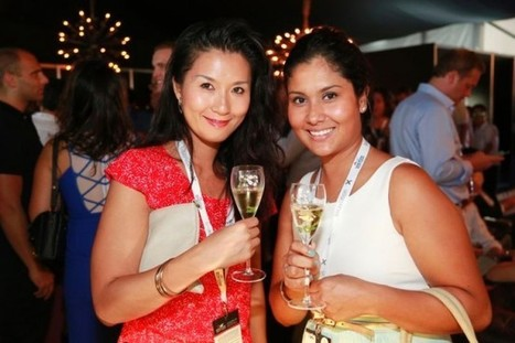 Perrier-Jouët Champagne Lounge at the 2015 Singapore Yacht Show | Yachts & Boats | Scoop.it