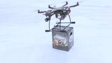 FAA Slaps Down Drone Beer Delivery Service to Ice Fishermen - ABC News   organ and bone marrow transplant   Scoop.it