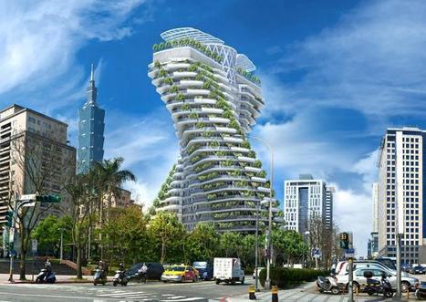 Vincent Callebaut Architecte TAIPEI   Aspects 2 & 3   Scoop.it