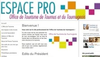Un site pour les pros | Actu Office de Tourisme de Tournus et du Tournugeois | Scoop.it