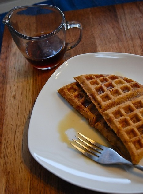 Kate in the Kitchen » Blog Archive » spiced sweet potato waffles | Food for Foodies | Scoop.it