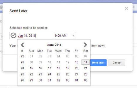SndLatr, extensión para crear recordatorios y programar correos en Gmail   El rincón de mferna   Scoop.it