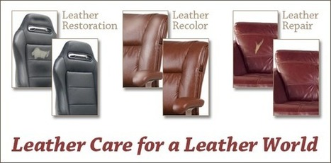 Leather Repair Kit - Leather Master - Leather World Tech | Leather Paint | Scoop.it