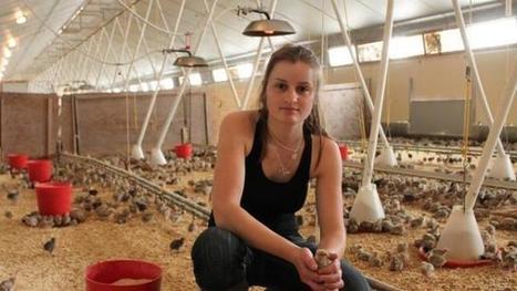 À 21 ans, Elodie est déjà agricultrice. Info - Le Mans.maville.com   agricultrices   Scoop.it