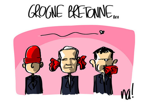 Grogne bretonne… | Dessinateurs de presse | Scoop.it
