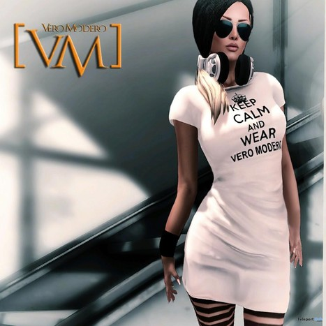 Keep Calm and Wear Vero Modero Group Gift by VERO MODERO | Teleport Hub - Second Life Freebies | Second Life Freebies | Scoop.it