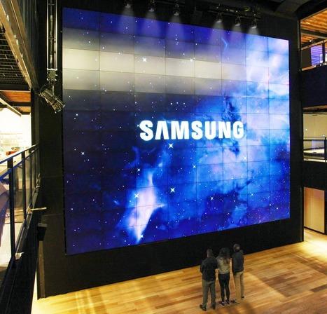 Twaalf keer de nieuwe flagshipstore van Samsung - RetailWatching | ekokooistra | Scoop.it