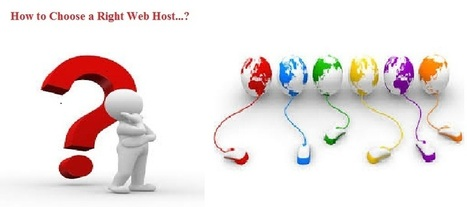 How to Choose a Right Web Host | Web Hosting - Go4hosting | Scoop.it