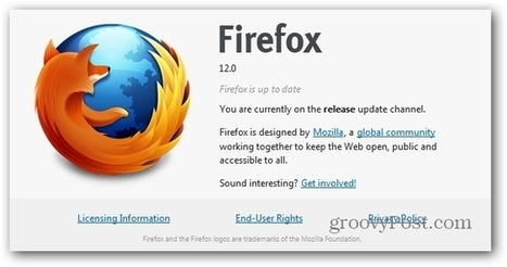 How To Update Firefox Automatically | Time to Learn | Scoop.it