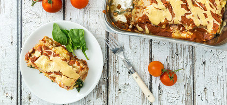 Sweet Potato Lasagna | My Vegan recipes | Scoop.it