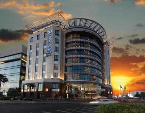 Proper Random - The amazing looking Radisson Blu hotel in Media...   A Guide To Dubai   Scoop.it