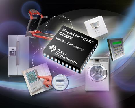 SimpleLink CC3000, ou le Wi-Fi pour les appareils électroménagers   Futura-Sciences   indicatif futur   Scoop.it