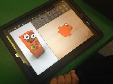 Using the Foldify App | iPad Teachers Blog | Scoop.it