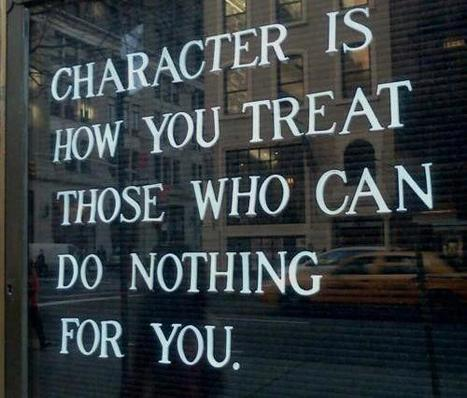 The Need to Care for Character | Serving and Leadership | Scoop.it