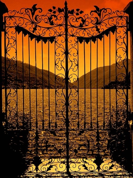 Gates to sunset........... | Una imagen lo dice todo | Scoop.it