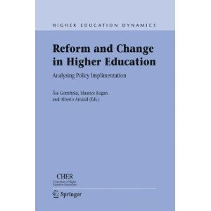 Reform And Change In Higher Education: Analysing Policy Implementation (Higher Education Dynamics): Ase Gornitzka, Maurice Kogan, Alberto Amaral | Transformational Leadership | Scoop.it