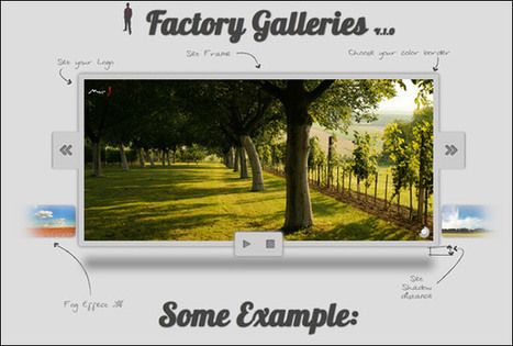 55+ Awesome jQuery Slider Plugins – Show Off Featured Content!   Basics and principles for a good  Web Design   Scoop.it