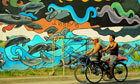Dolphin murals spark marine awareness campaign in Philippines | Makamundo (Earthly) | Scoop.it