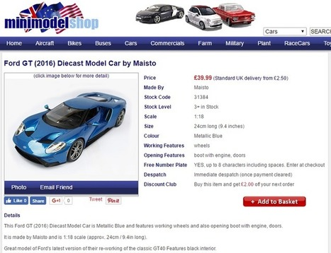 15 Top Model Car Toys To Buy In The UK | guestcrew | Scoop.it