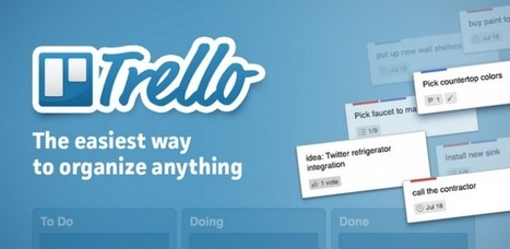 Organiza y crea proyectos compartidos con Trello | Innovación,Tecnología y Redes sociales | Scoop.it