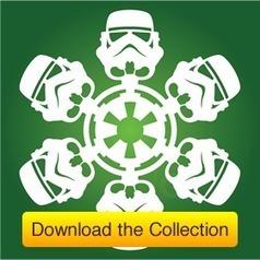 DIY Star Wars Snowflakes | Matters of Grey | Spread the Nerd! | Scoop.it