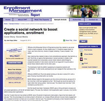 .Rethink strategy to address applications surge   Higher Ed and Enrollment   Scoop.it