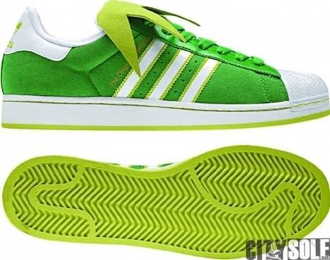 Kermit the Frog adidas Superstar II Sneakers | All Geeks | Scoop.it