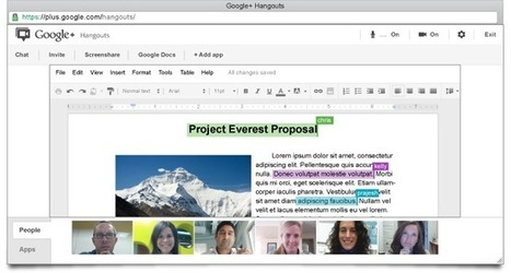 Google Apps for Business: Meetings in Hangouts | WEBOLUTION! | Scoop.it