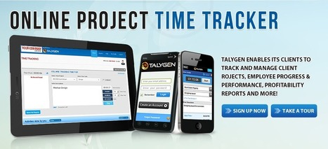 Online Project Time Tracker | Project Time Management Software | Talygen | Scoop.it