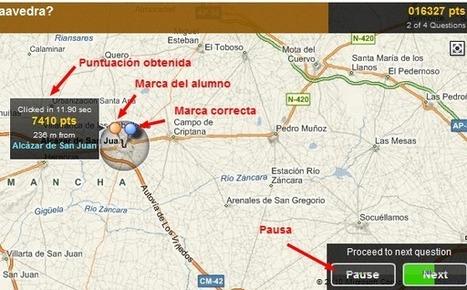 QuizMaps con la herramienta Umapper.com   Geografía e Historia   Scoop.it