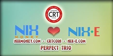 CRTCoin - NixMoney.com - Nix-E.com - A perfect Trio - Crypto News 24/7   Bitcoin News   Scoop.it